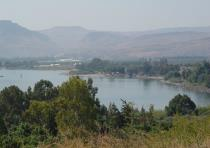 A view of Lake Kinneret