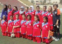 The Palestinian Women's National Soccer Team