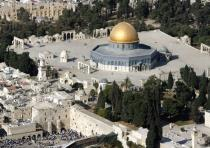 THE TEMPLE MOUNT in Jerusalem, the site of a deadly attack last week.