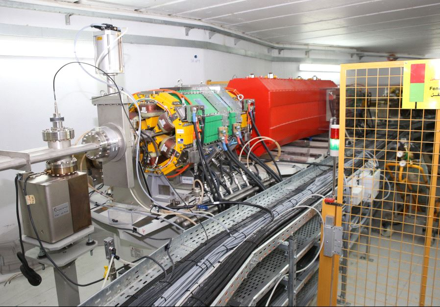 Inside the tunnels housing the particle accelerator. (Photo courtesy of the Sharing Knowledge Foundation)