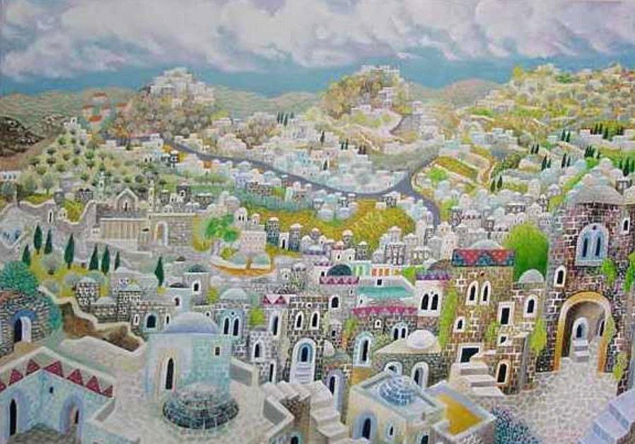 Jerusalem by Baruch Nachshon. Photo Credit: JWG LTD